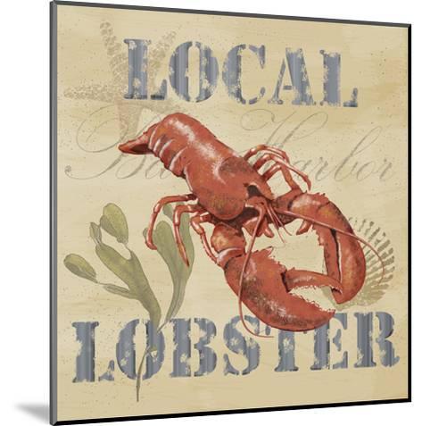 Wild Caught Lobster-Jade Reynolds-Mounted Art Print