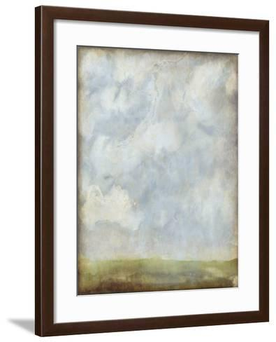 Aged Abstract Landscape II-Naomi McCavitt-Framed Art Print