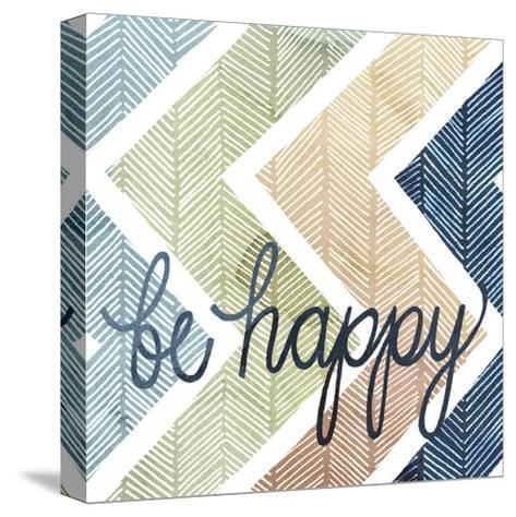 Arrow Typography II-Grace Popp-Stretched Canvas Print