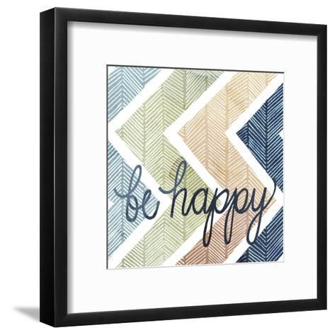 Arrow Typography II-Grace Popp-Framed Art Print
