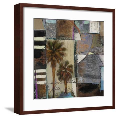 Abstract Palms I-Rick Novak-Framed Art Print