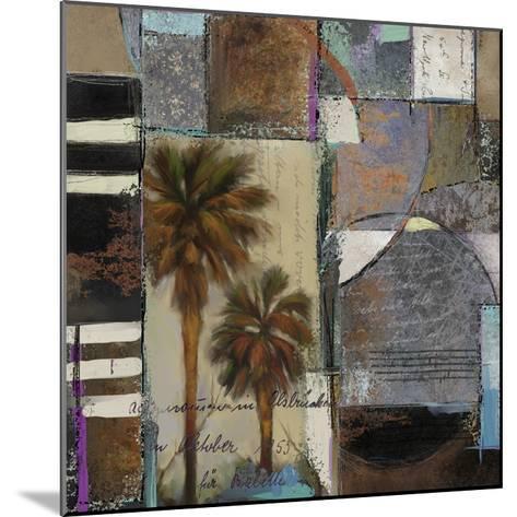 Abstract Palms I-Rick Novak-Mounted Art Print