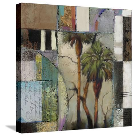 Abstract Palms II-Rick Novak-Stretched Canvas Print