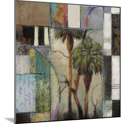 Abstract Palms II-Rick Novak-Mounted Art Print