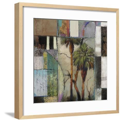 Abstract Palms II-Rick Novak-Framed Art Print
