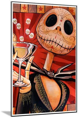Jack Celebrates the Dead-Mike Bell-Mounted Art Print