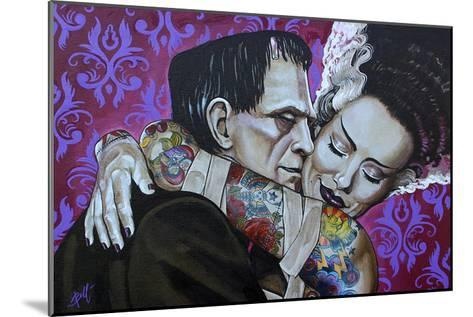 Undying Love-Mike Bell-Mounted Art Print