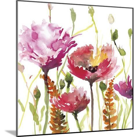 Blooms and Buds-Rebecca Meyers-Mounted Giclee Print
