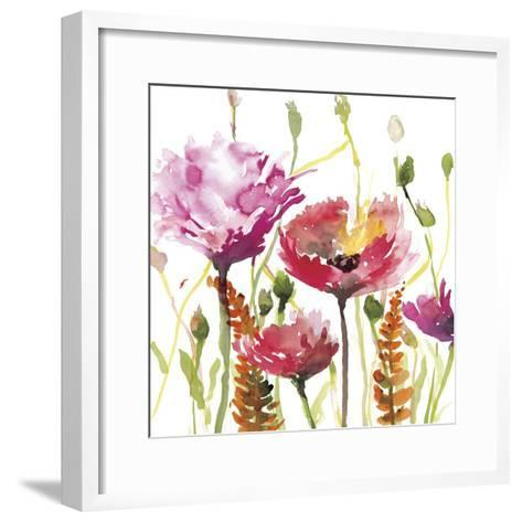 Blooms and Buds-Rebecca Meyers-Framed Art Print