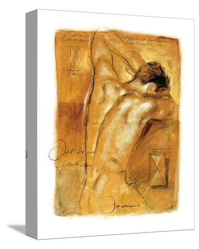 A Man's Desire-Joani-Stretched Canvas Print