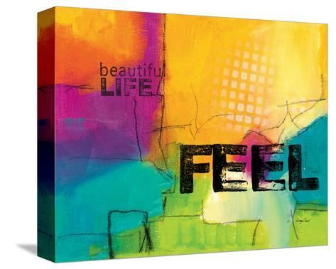 Beautiful Life-Lucy Cloud-Stretched Canvas Print