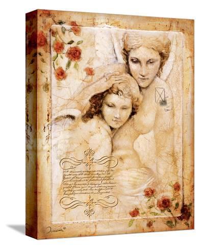 Les Anges-L'Ange Gardien-Joadoor-Stretched Canvas Print