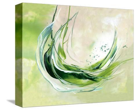 Plunge in-Lucy Cloud-Stretched Canvas Print