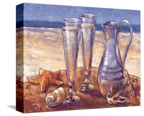 Sand Sun Sea-Bjoern Baar-Stretched Canvas Print