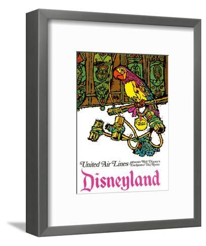 Disneyland - Walt Disney's Enchanted Tiki Room - United Air Lines-Jabavy-Framed Art Print