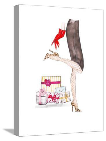 Legs Gifts- Alison B Illustrations-Stretched Canvas Print