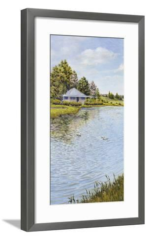 Waters Edge-Hilary Armstrong-Framed Art Print