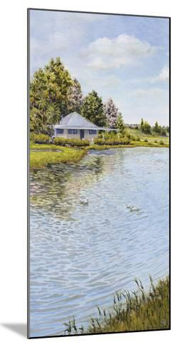 Waters Edge-Hilary Armstrong-Mounted Giclee Print