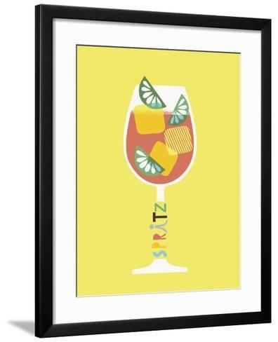 Stylish Cocktails - Spritz-Sophie Ledesma-Framed Art Print