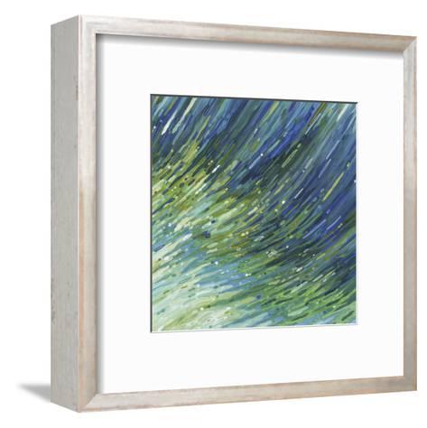 Light Glimmering Waves (right)-Margaret Juul-Framed Art Print