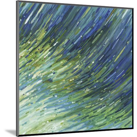 Light Glimmering Waves (right)-Margaret Juul-Mounted Art Print