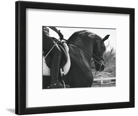 His Name is Wraaven-Barry Hart-Framed Art Print