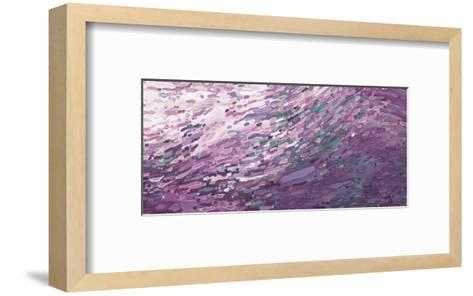 Heather Skies Reflecting-Margaret Juul-Framed Art Print
