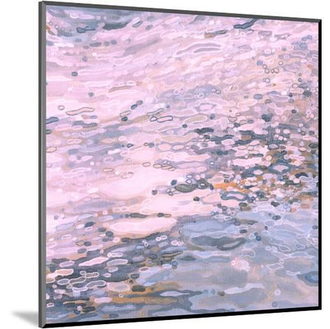 Serenity Shoreline-Margaret Juul-Mounted Art Print