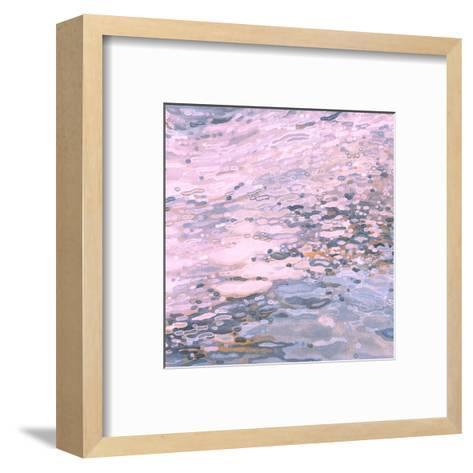 Serenity Shoreline-Margaret Juul-Framed Art Print