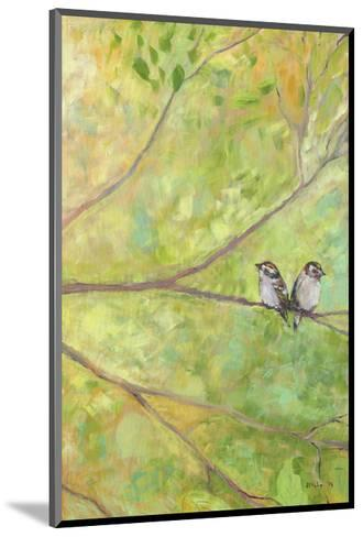 Forest Treasures Part I-Jennifer Lommers-Mounted Art Print