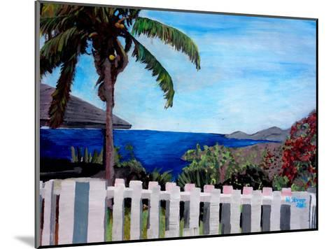 English Harbour Antigua-M Bleichner-Mounted Art Print