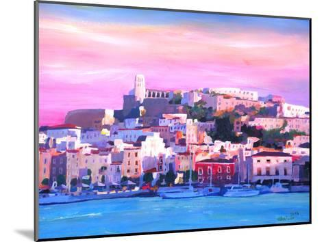Ibiza Old Town And Harbour Pearl Of The Mediterranean-M Bleichner-Mounted Art Print