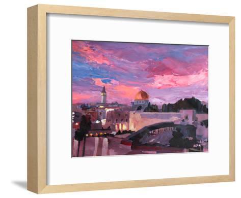 Jerusalem-M Bleichner-Framed Art Print
