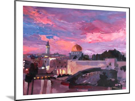 Jerusalem-M Bleichner-Mounted Art Print