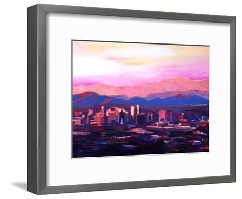 Phoenix Arizona Skyline2-M Bleichner-Framed Art Print