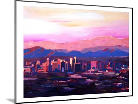 Phoenix Arizona Skyline2-M Bleichner-Mounted Art Print