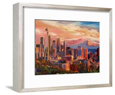 Seattle2-M Bleichner-Framed Art Print
