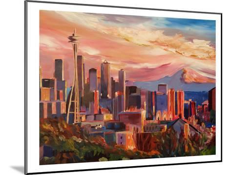 Seattle2-M Bleichner-Mounted Art Print