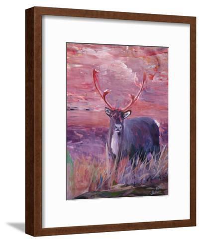 Reindeer-M Bleichner-Framed Art Print
