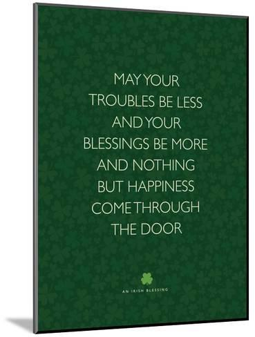 May Your Troubles Be Less-Brett Wilson-Mounted Art Print