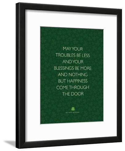 May Your Troubles Be Less-Brett Wilson-Framed Art Print