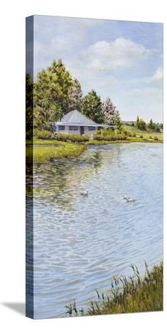 Waters Edge-Hilary Armstrong-Stretched Canvas Print