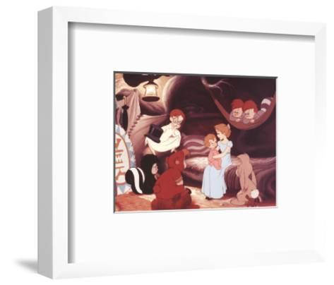 Walt Disney's Peter Pan: Wendy Sings a Lullaby-Unknown-Framed Art Print