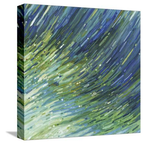 Light Glimmering Waves (right)-Margaret Juul-Stretched Canvas Print