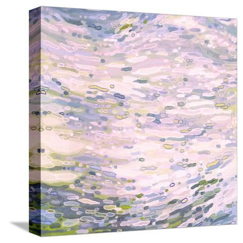 Rose Quartz Reflections-Margaret Juul-Stretched Canvas Print