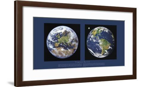 Planet Earth-Contemporary Photography-Framed Art Print