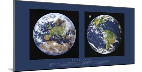 Planet Earth-Contemporary Photography-Mounted Giclee Print