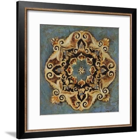 Blue Crest II-Douglas-Framed Art Print