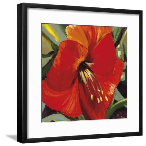 Tiare III-Taylor-Framed Art Print