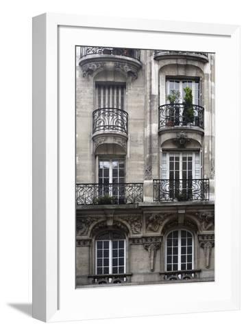 Balcon Parisien I-Tony Koukos-Framed Art Print